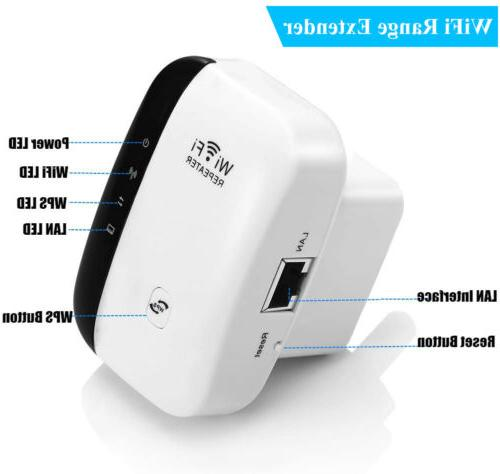 300Mbps WiFi Repeater Extender Home