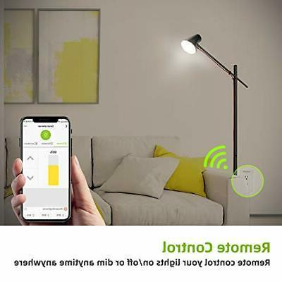 Smart Dimmer,4 Outlet Wall
