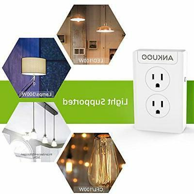 smart plug outlet switch dimmer 4 outlet
