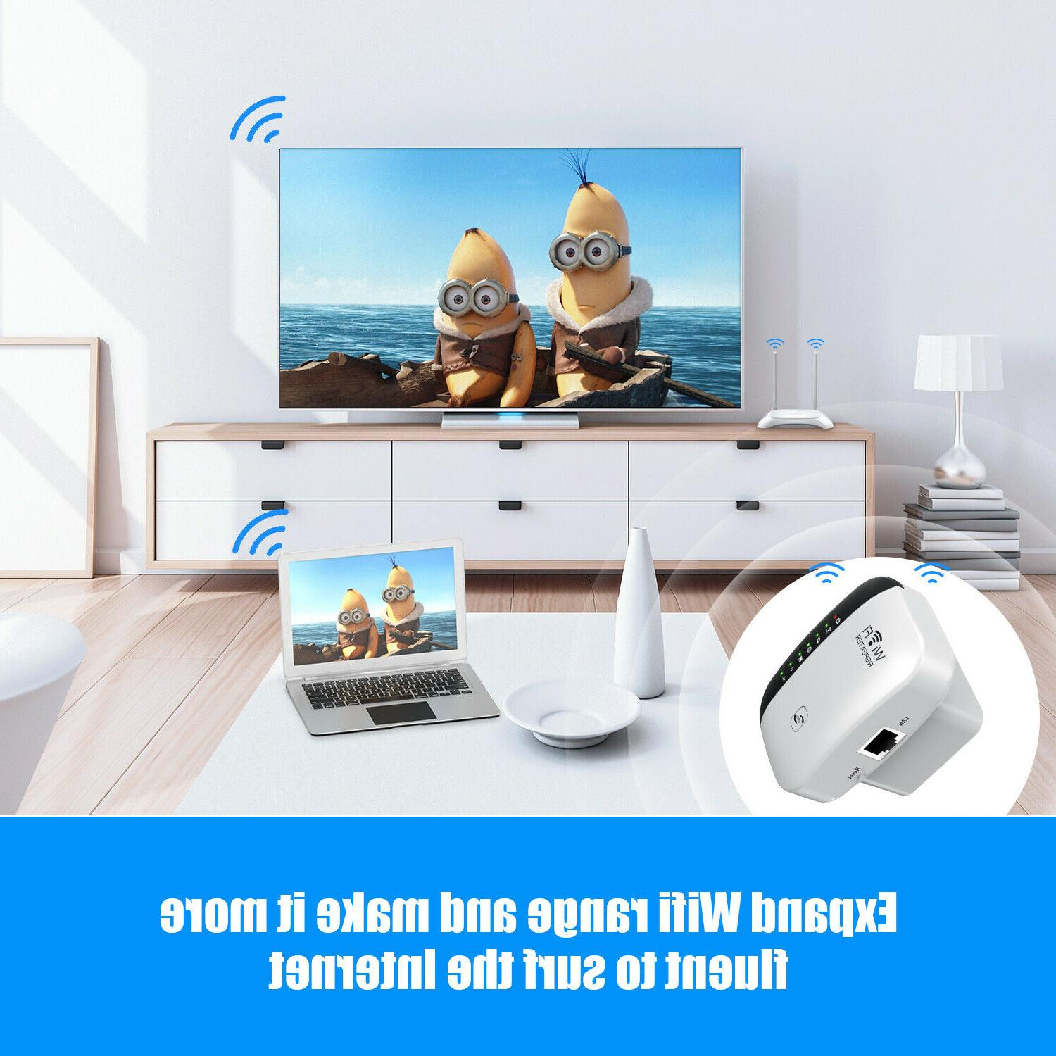 WiFi Booster Router Signal Repeater