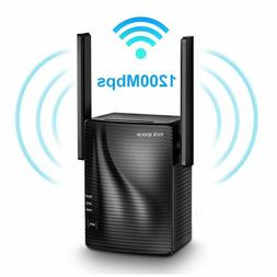 WiFi Range Extender - 1200Mbps WiFi Repeater Wireless Signal