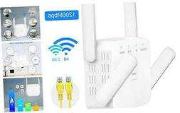 WiFi Range Extender 1200Mbps WiFi Signal Booster Repeater wi