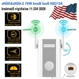 Wavlink AC1200Mbps WIFI Repeater&Dual Band 2.4G& 5G Wireless
